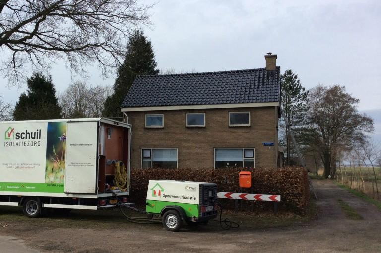Spouwmuur isolatie | Vrijstaand huis